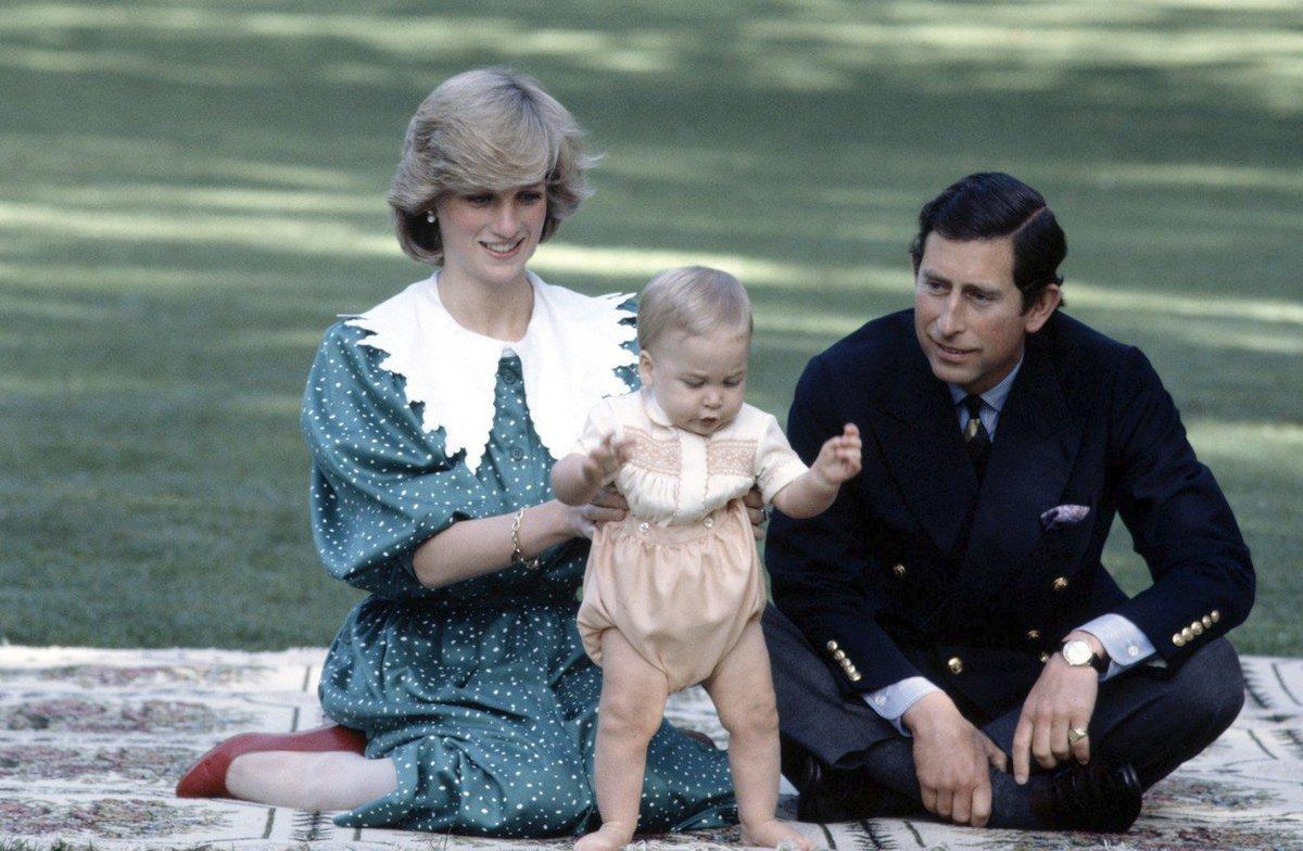 Diana, Charles a malý princ William