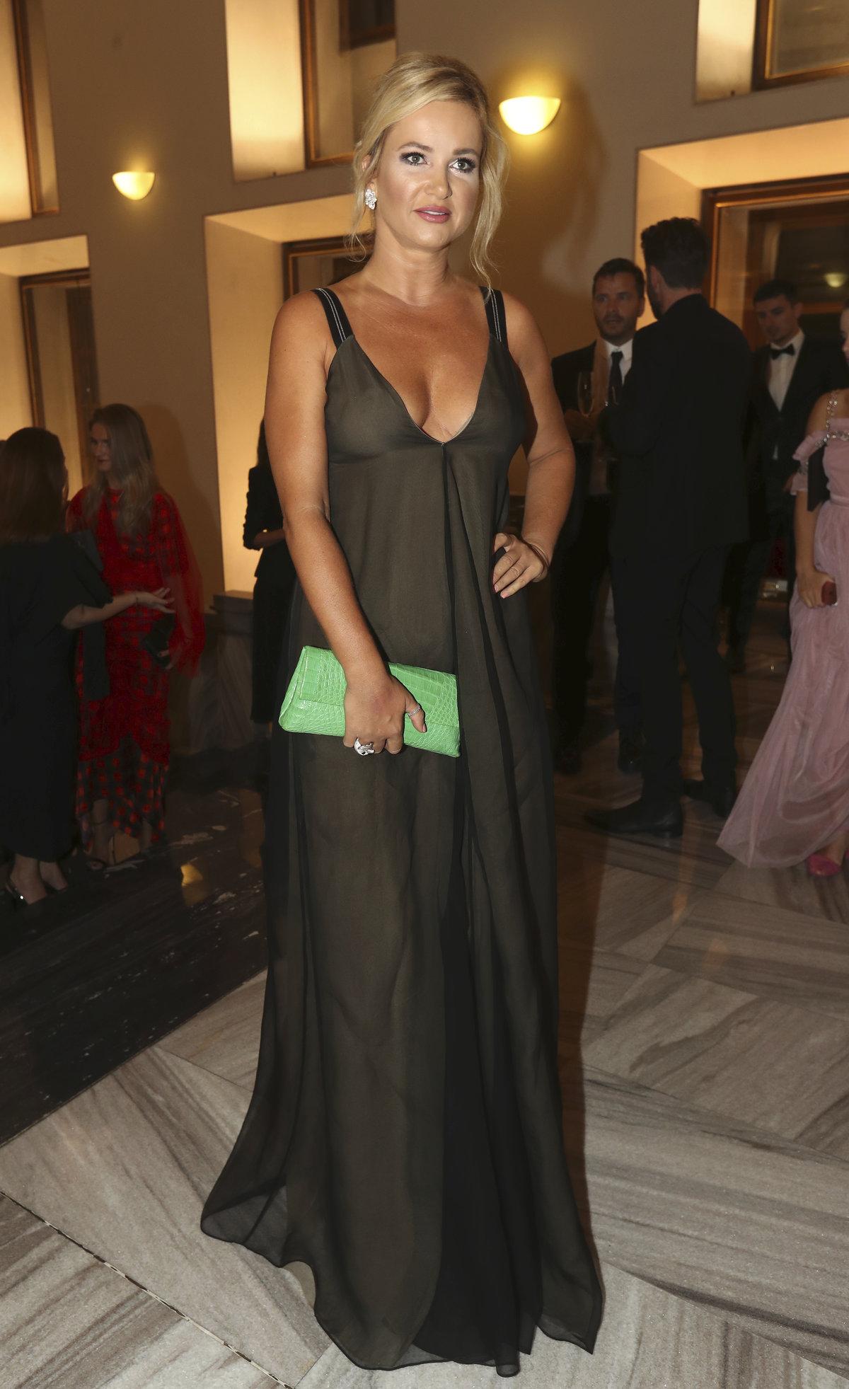 Monika Babišová vyrazila na finále prestižní soutěže Elite Model Look .