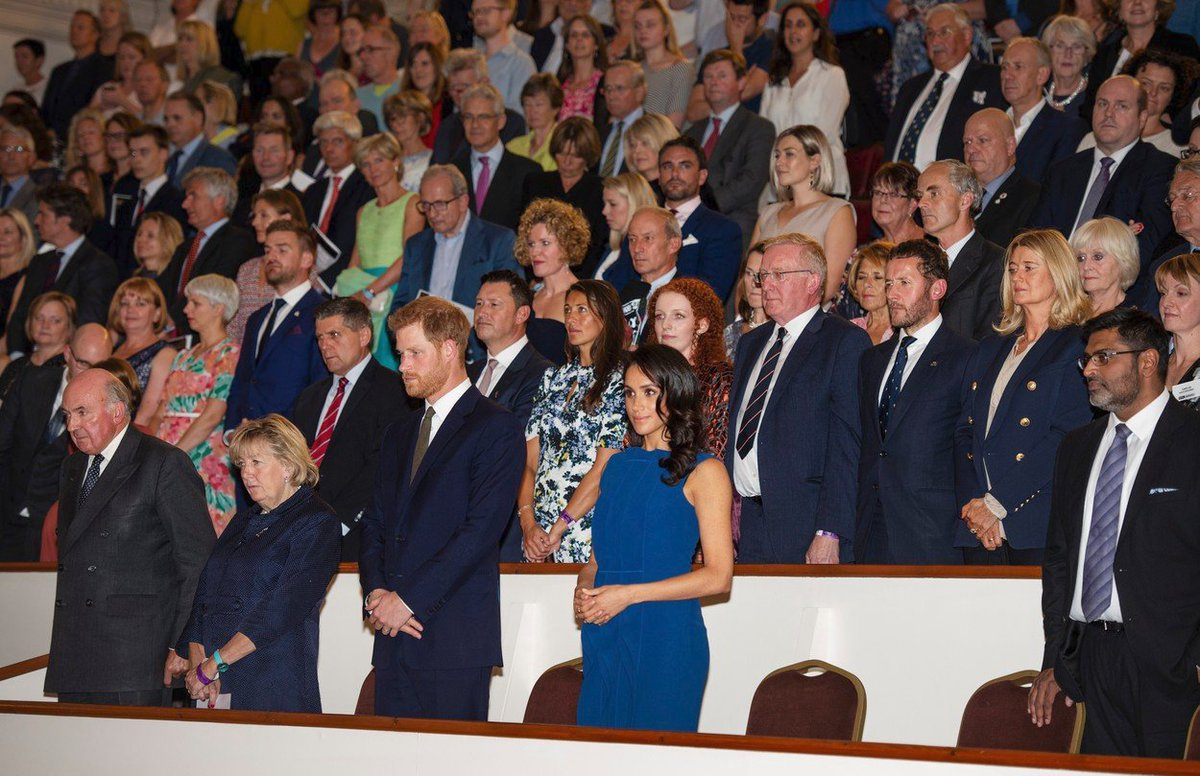 Princ Harry a vévodkyně Meghan na galakoncertu