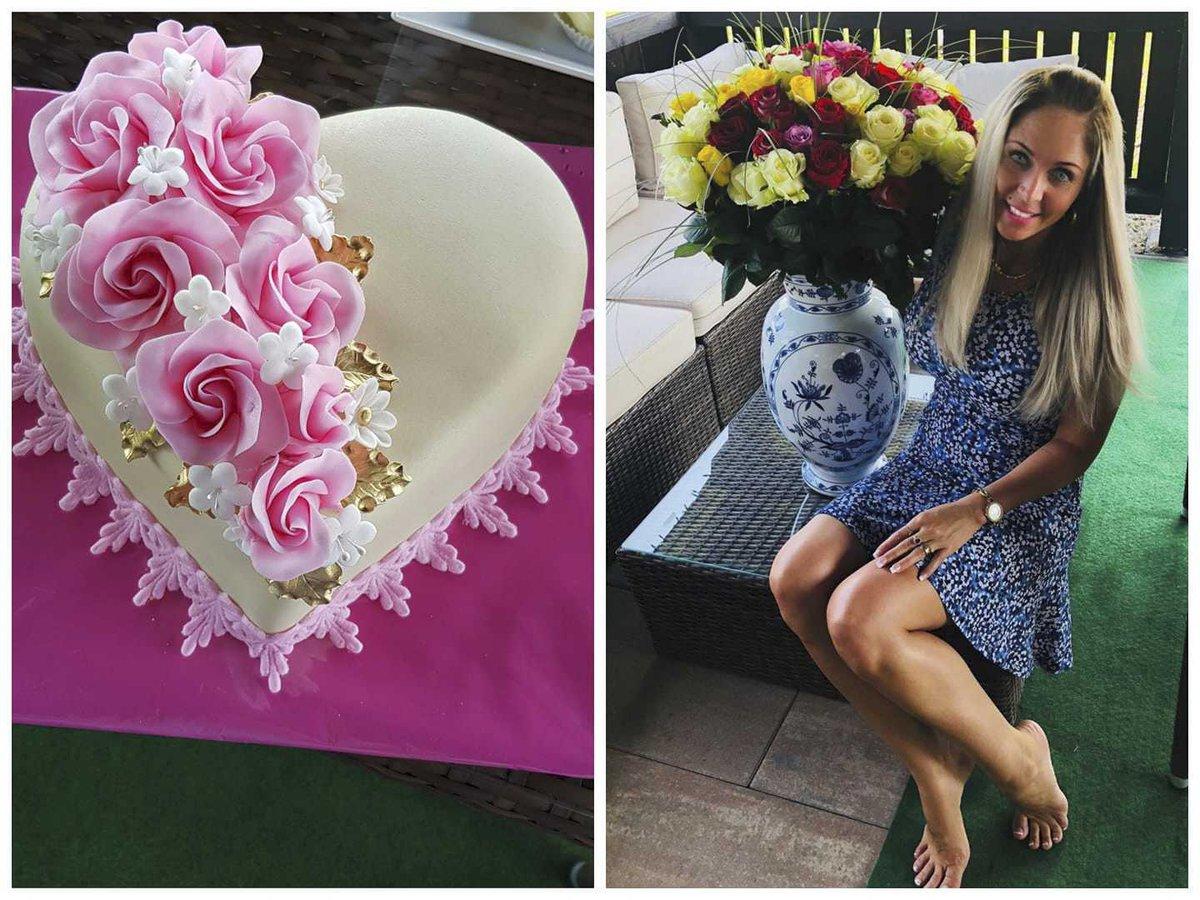 Dne 29. června Vladimír Růžička slavil se svou manželkou její narozeniny.
