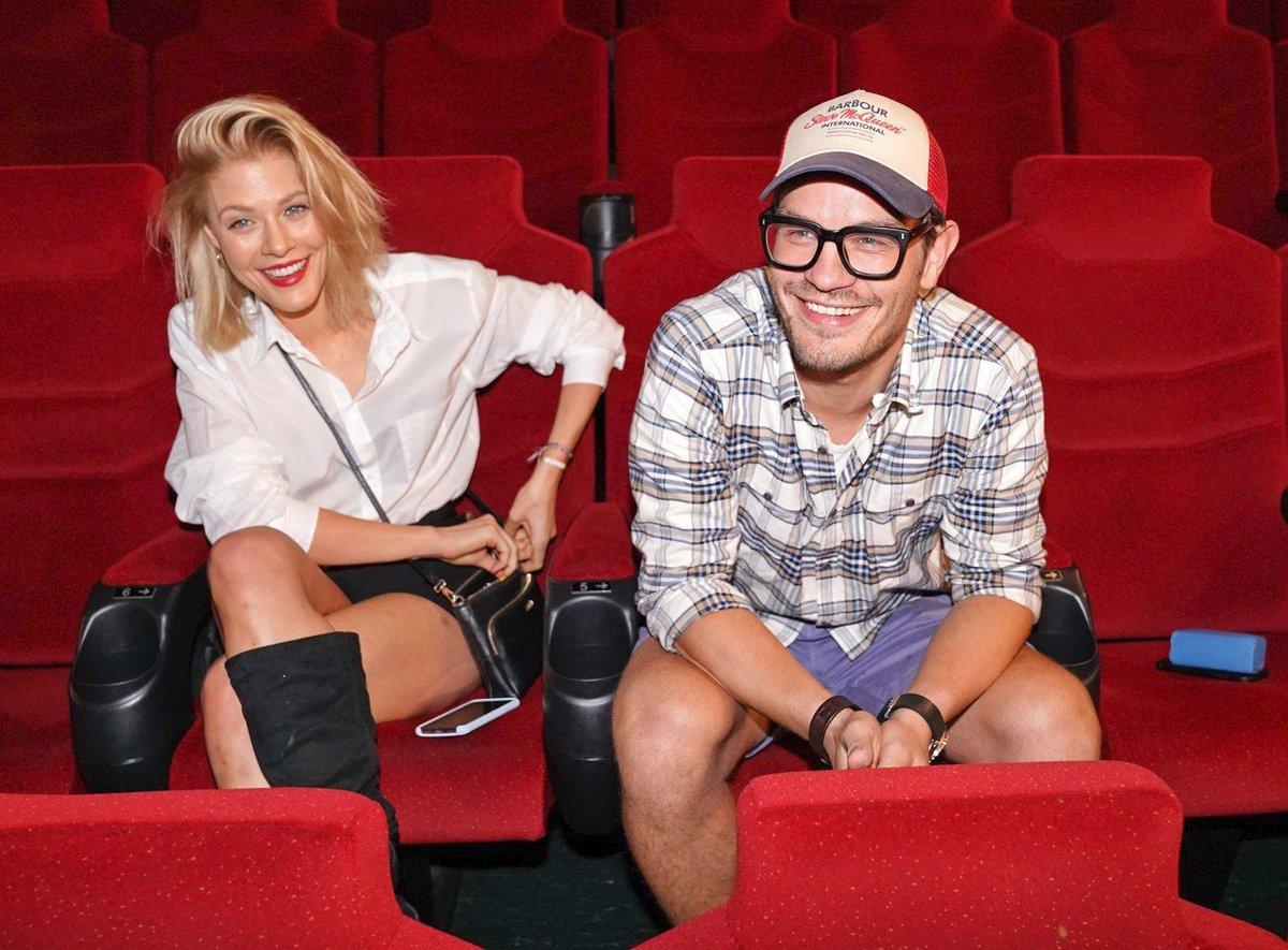 David Kraus flirtoval v kině s herečkou Kateřinou Klausovou.