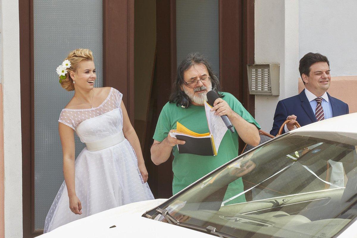 Natáčení svatby v Ulici: Režisér Boro Radojčič