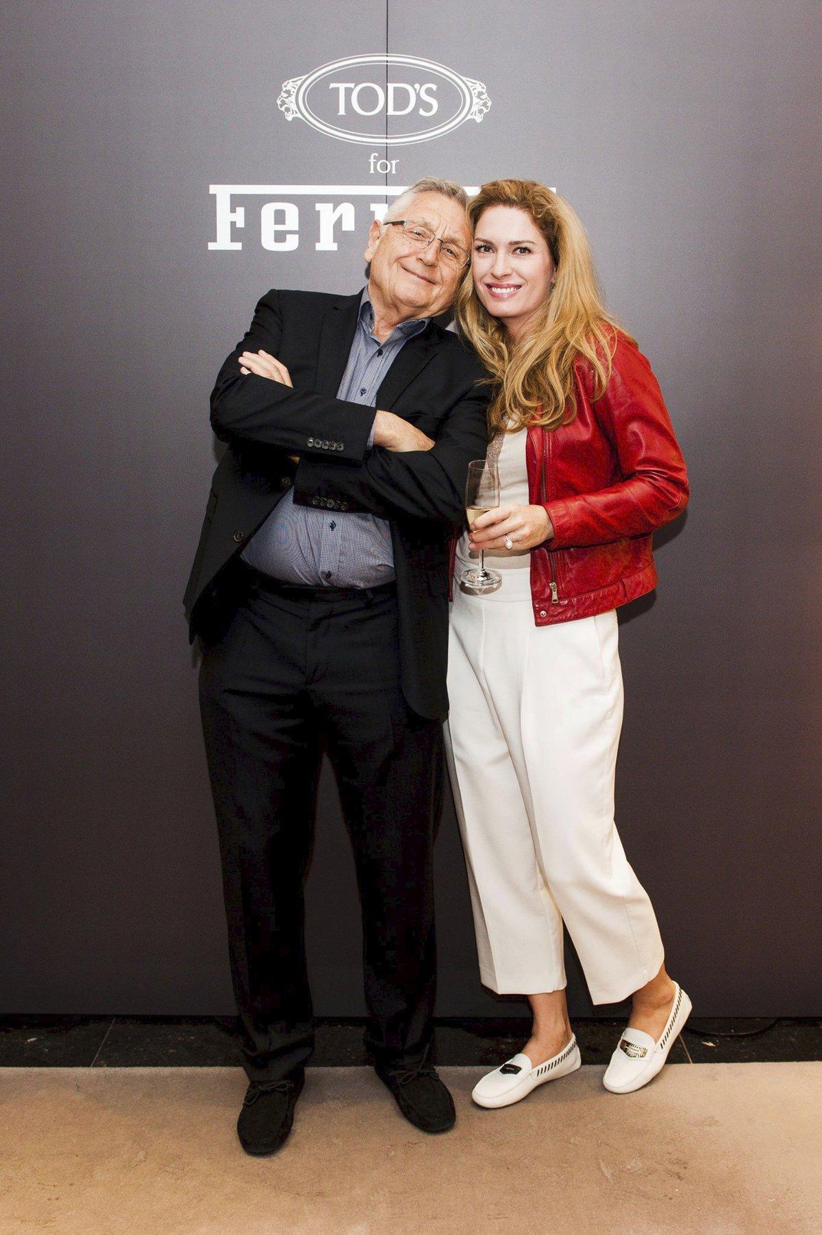 Olga Menzelová s Jiřím Menzelem.