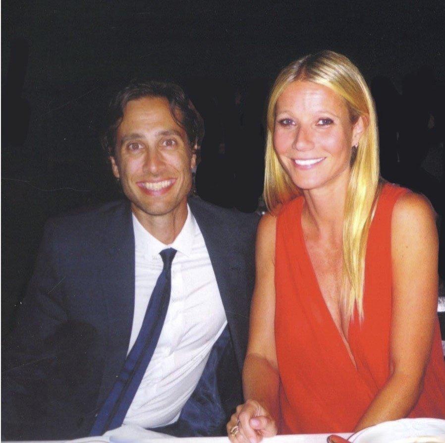 Gwyneth se svým manželem Bradem