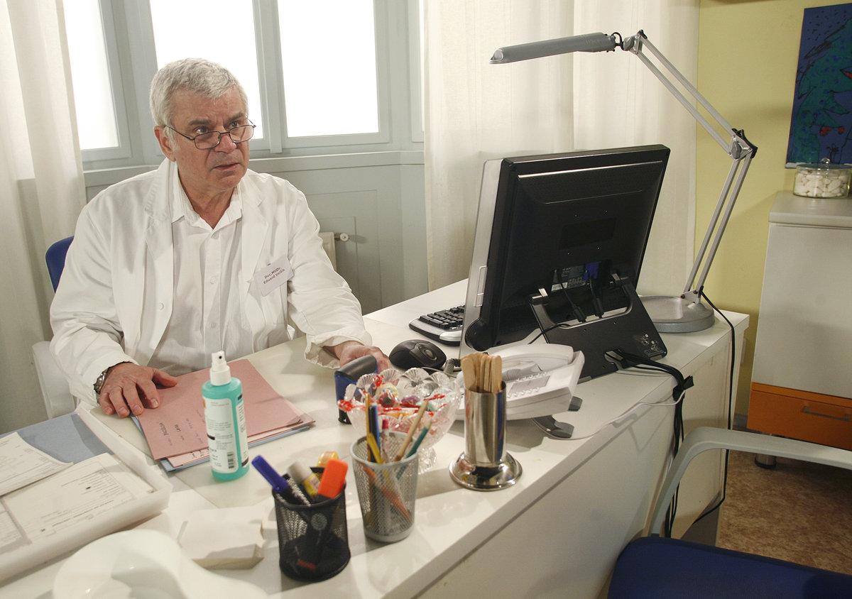 Petr Štěpánek v Ordinaci