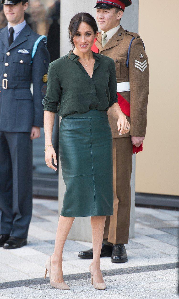 Vévodkyně Meghan na návštěvě hrabství Sussex