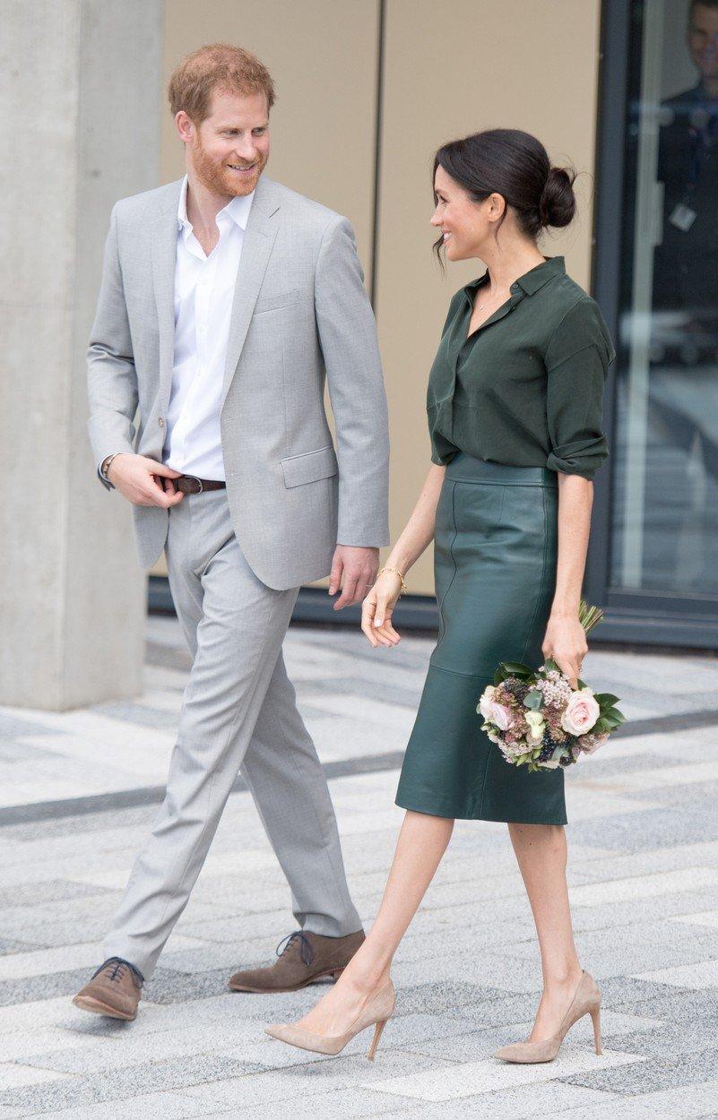 Vévodkyně Meghan a princ Harry na návštěvě hrabství Sussex