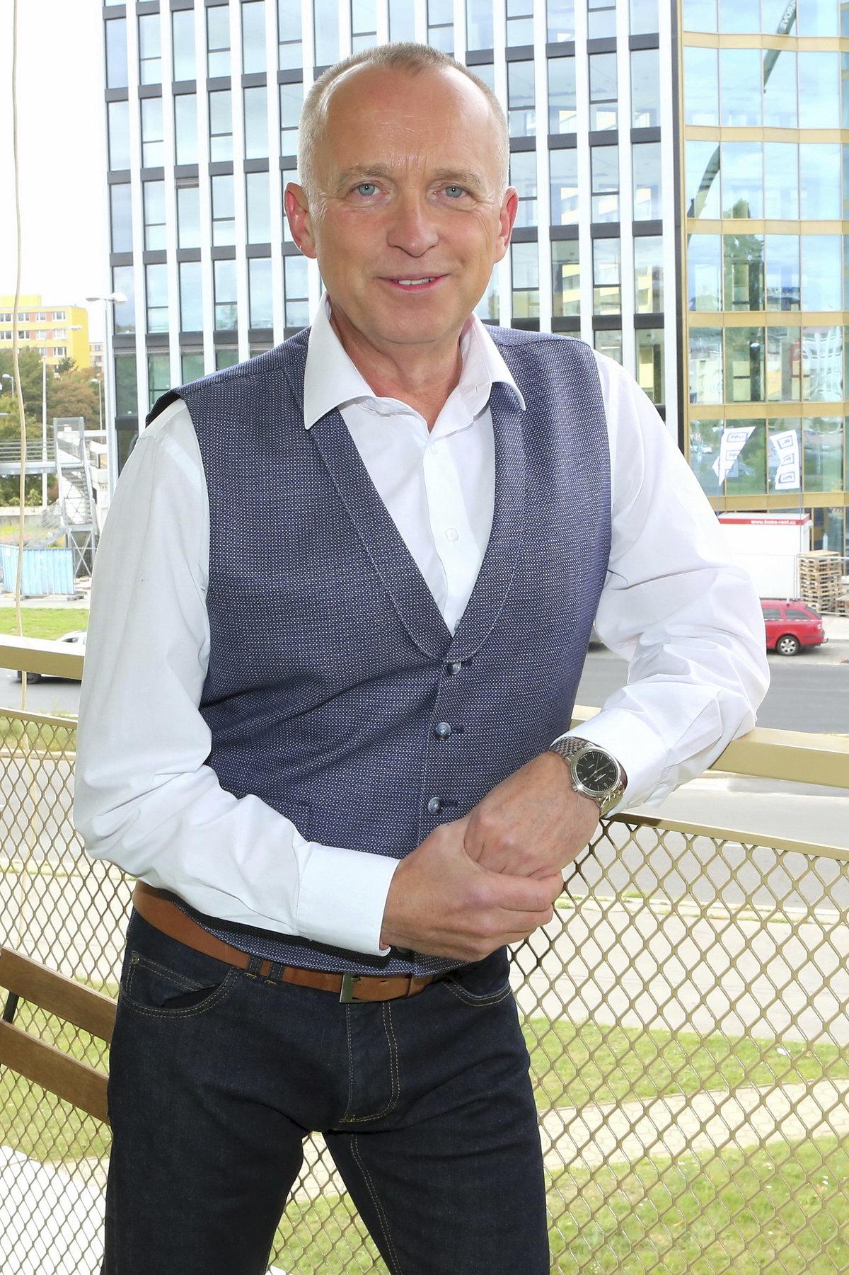 Moderátor Karel Voříšek