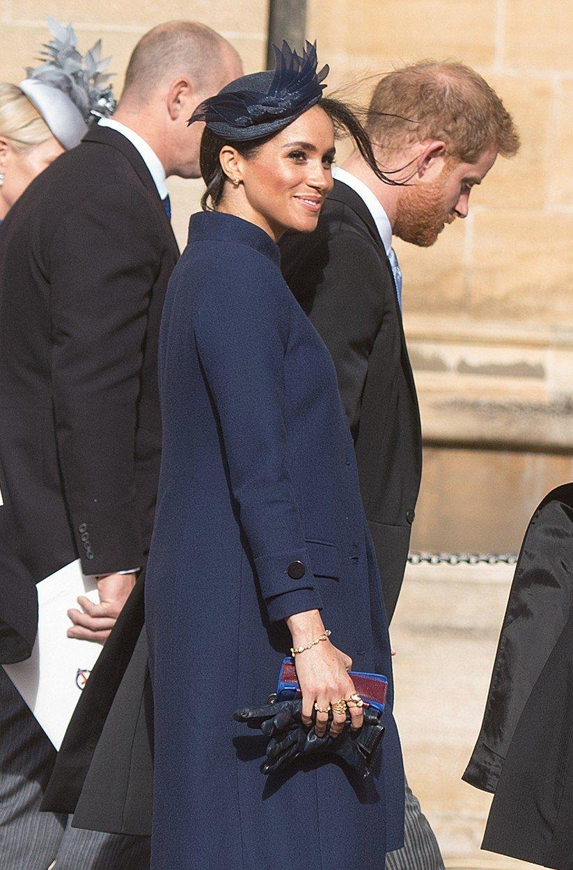 Vévodkyně Meghan Markle je těhotná.