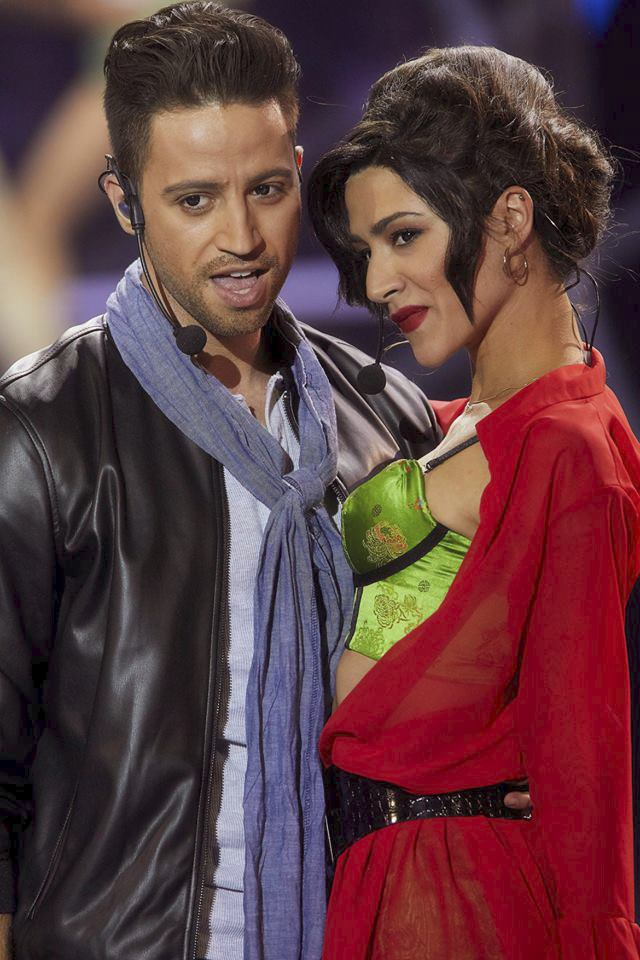 Eva Burešová a Milan Peroutka jako Demi Lovato a Luis Fonsi v Tvoje tvář má známý hlas