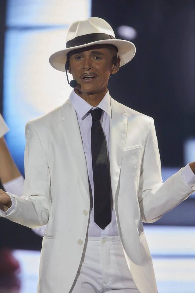 Michaela Badinková jako Lou Bega v Tvoje tvář má známý hlas