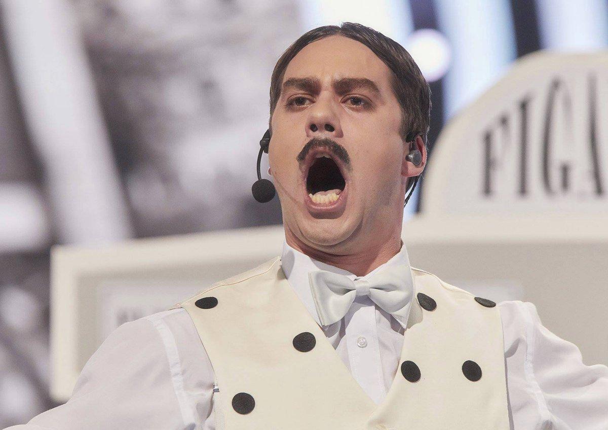 Patrik Děrgel jako Gioachino Antonio Rossini v Tvoje tvář má známý hlas