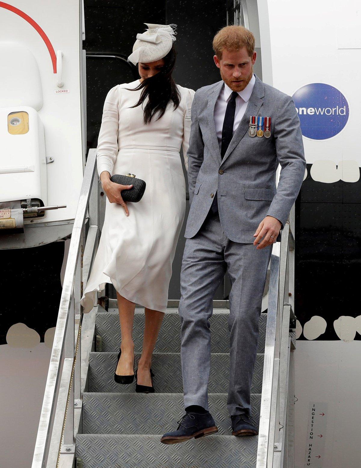 Princ Harry a Meghan Markle navštívili ostrov Fiji.