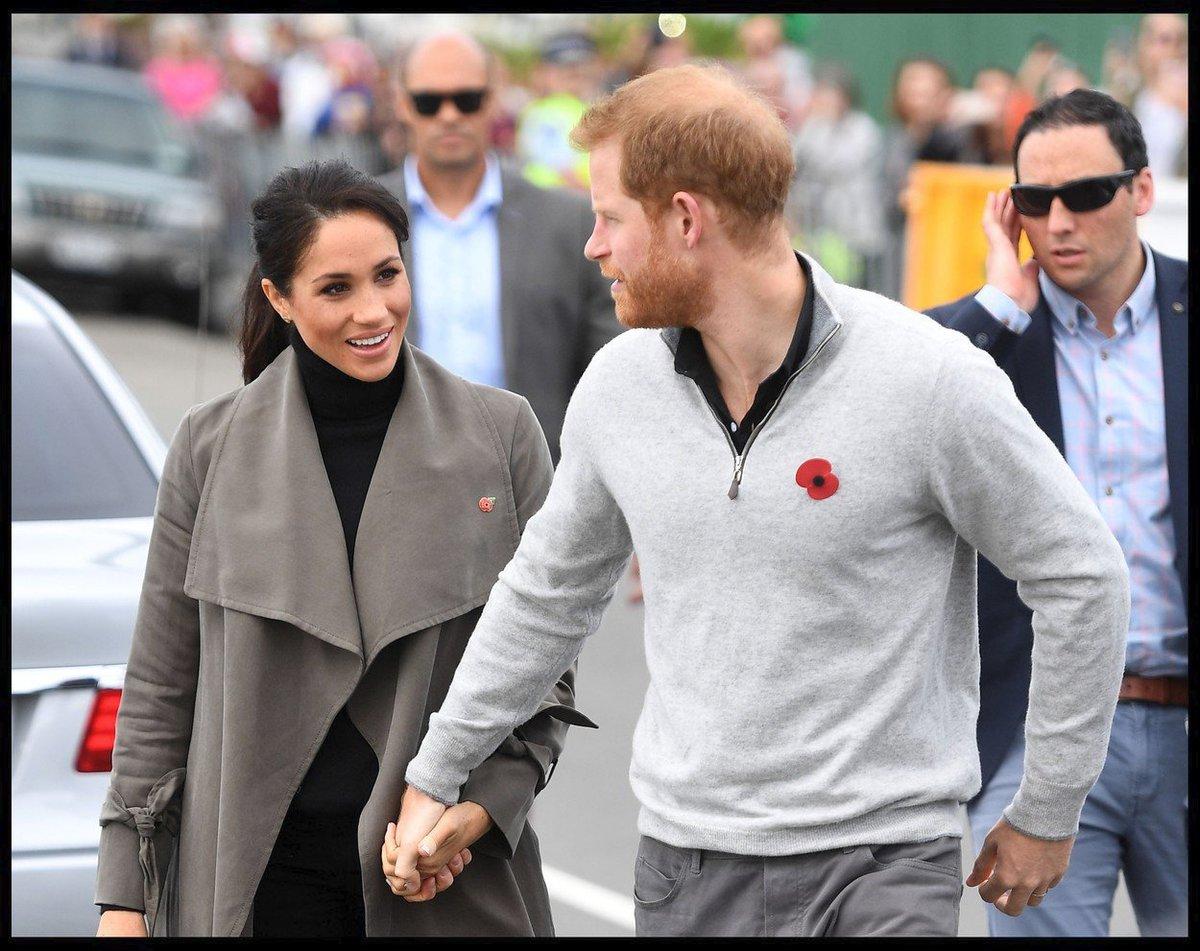 Princ Harry a vévodkyně Meghan na Novém Zélandu