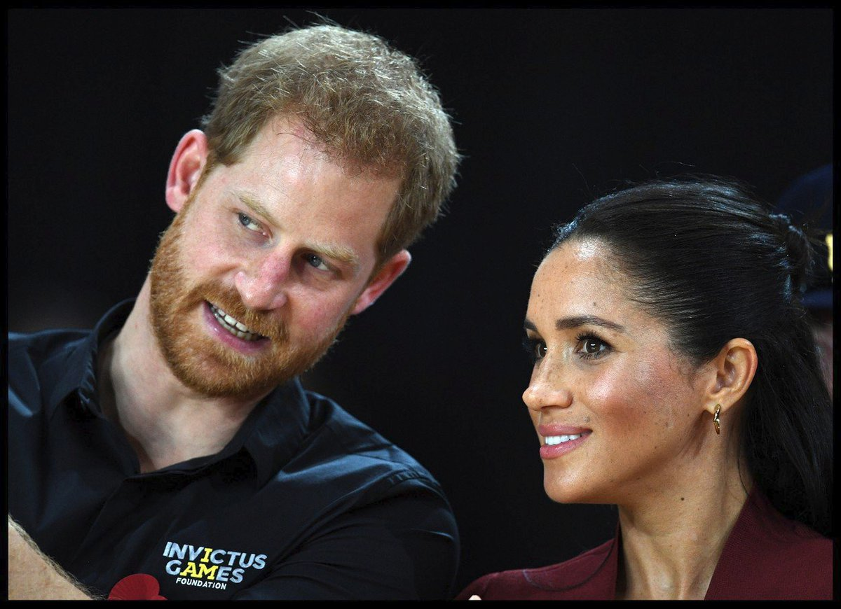 Princ Harry a Meghan Markle na Invictus Games