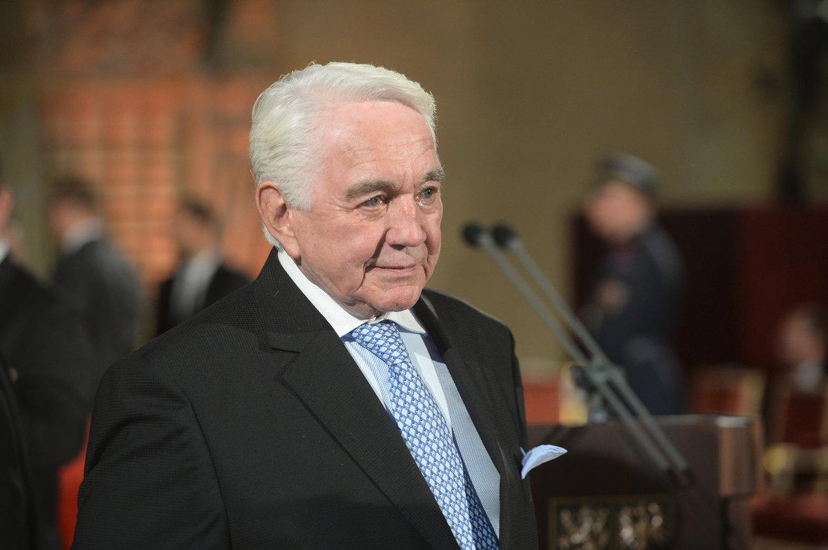 Jiří Krampol na předávání státních vyznamenání 28. října 2018