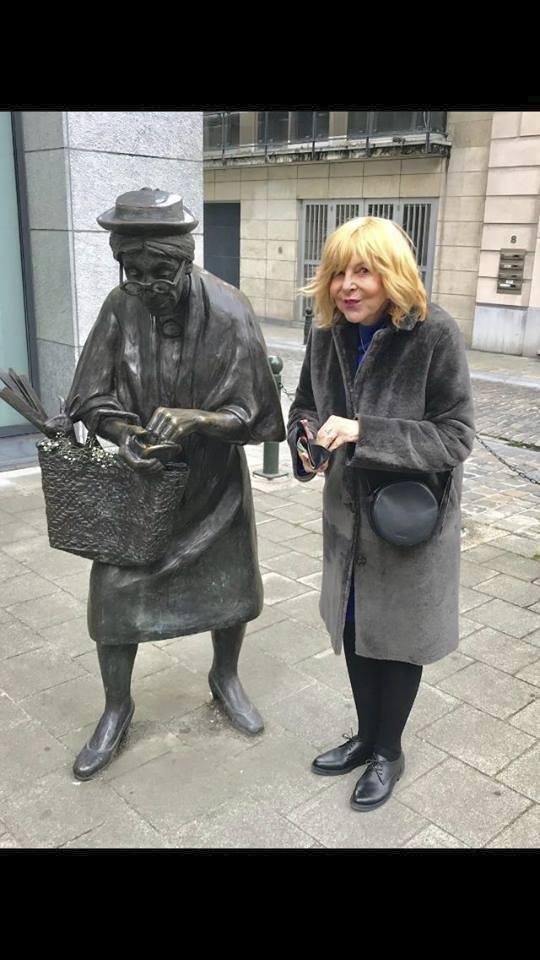 Hana Zagorová v Bruselu