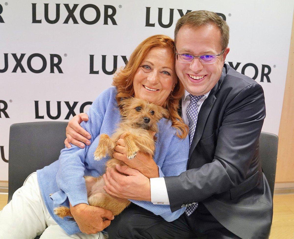 Simona Stašová s Pepinou a Václav Moravec