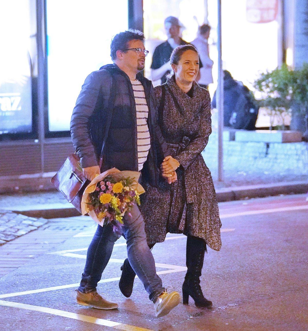Tereza Kostková s manželem Jakubem Nvotou.