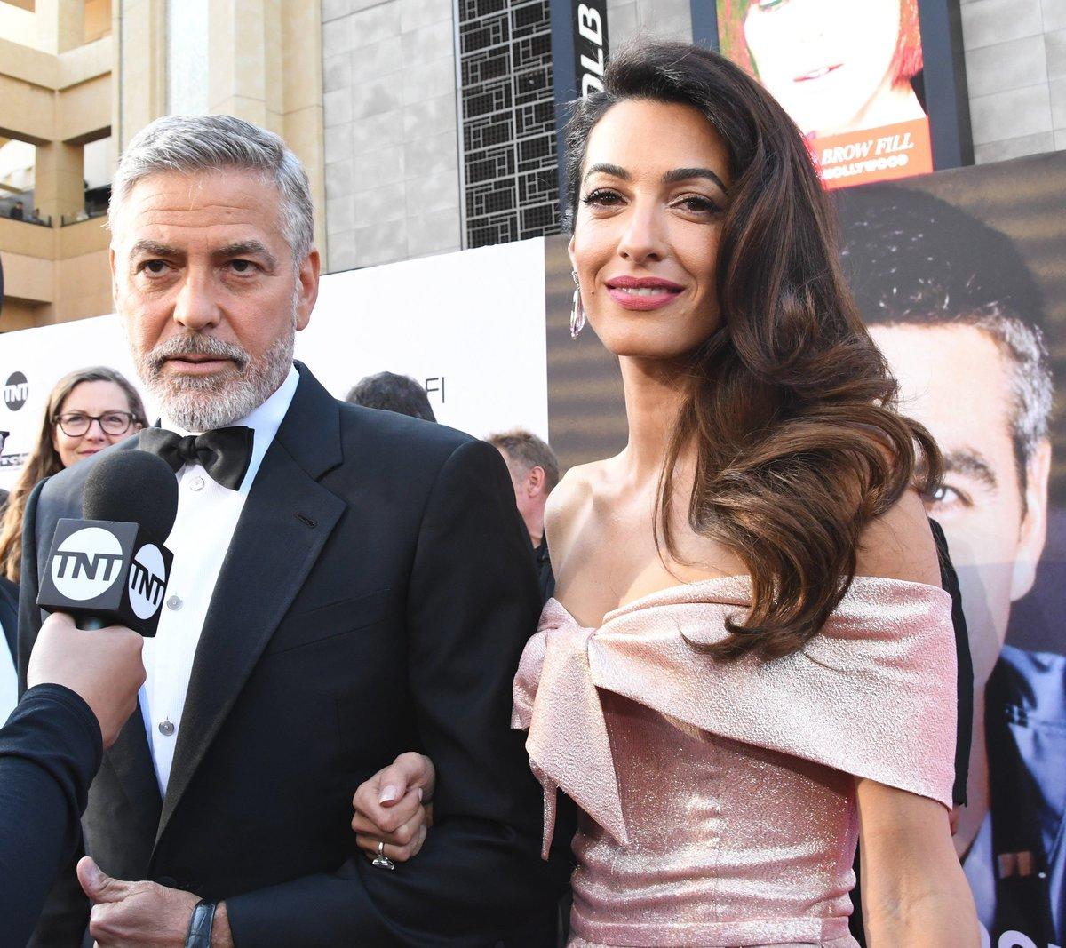 S manželkou Amal