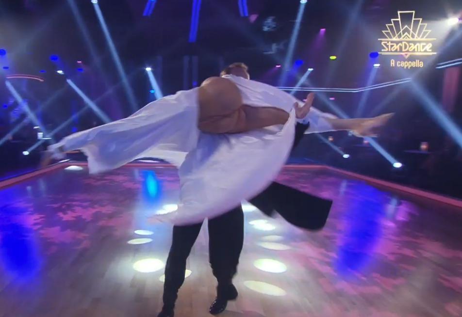 Veronika Arichteva ukázala během tance zadek.