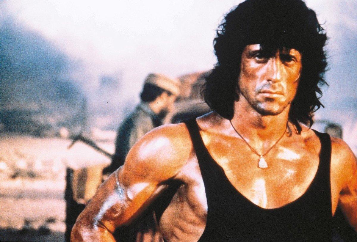 Sylvester Stallone ve své nejslavnější roli