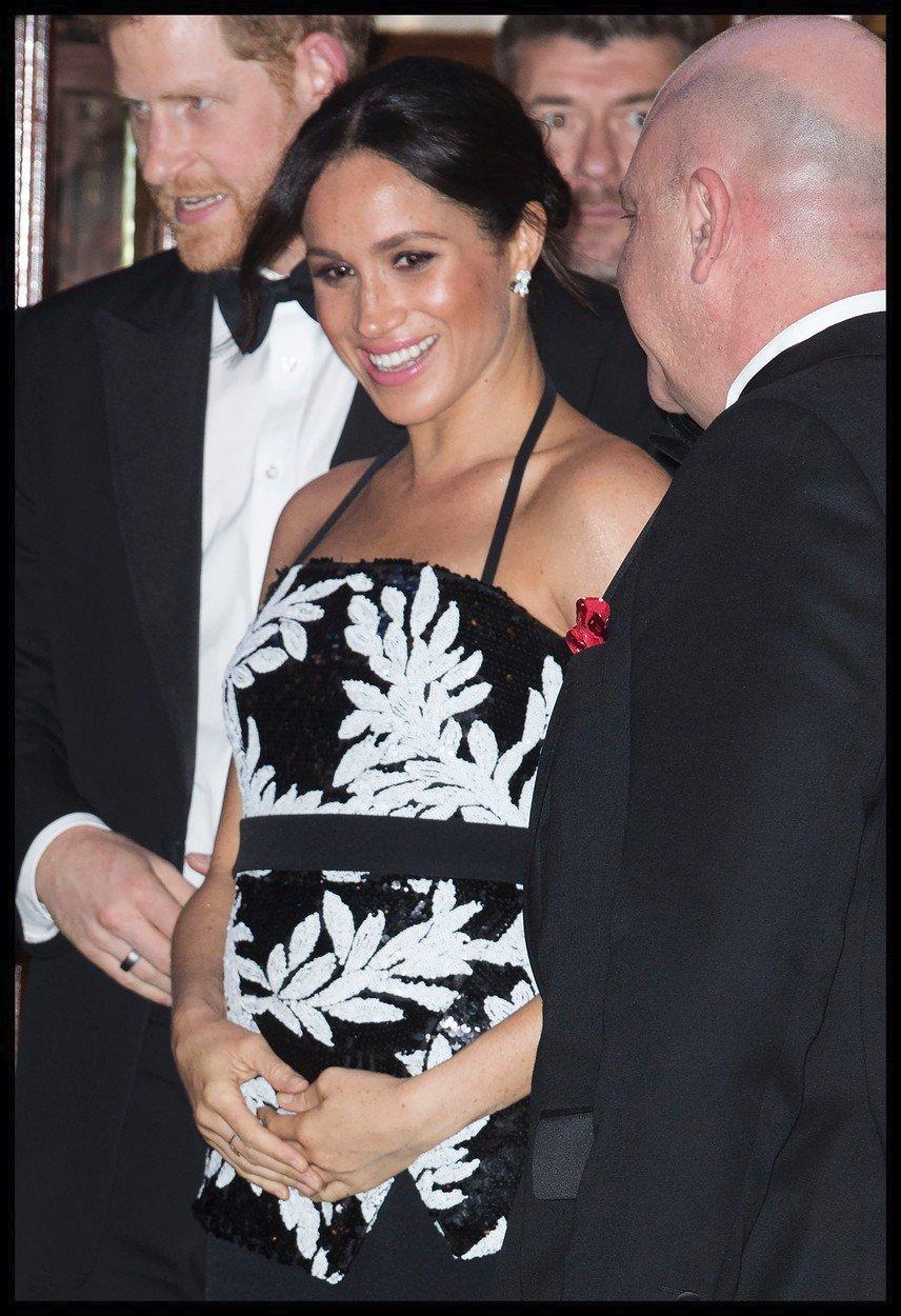 Princ Harry a těhotná vévodkyně Meghan