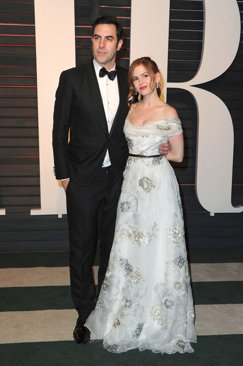Sacha Baron Cohen a jeho manželka Isla Fisher