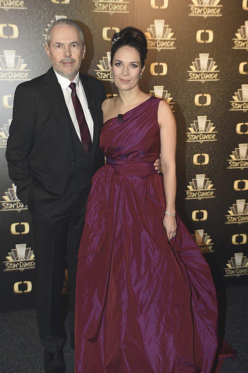 Marek Eben s Terezou Kostkovou