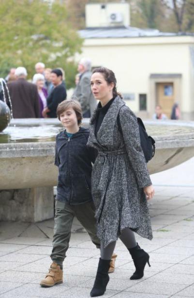Tereza se synem Toníkem.