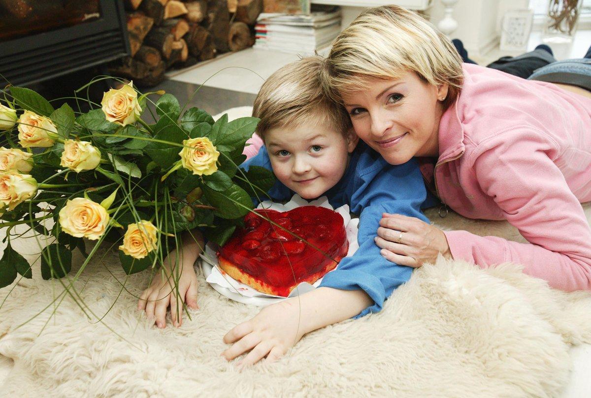Artur Štaidl s maminkou Ivetou.