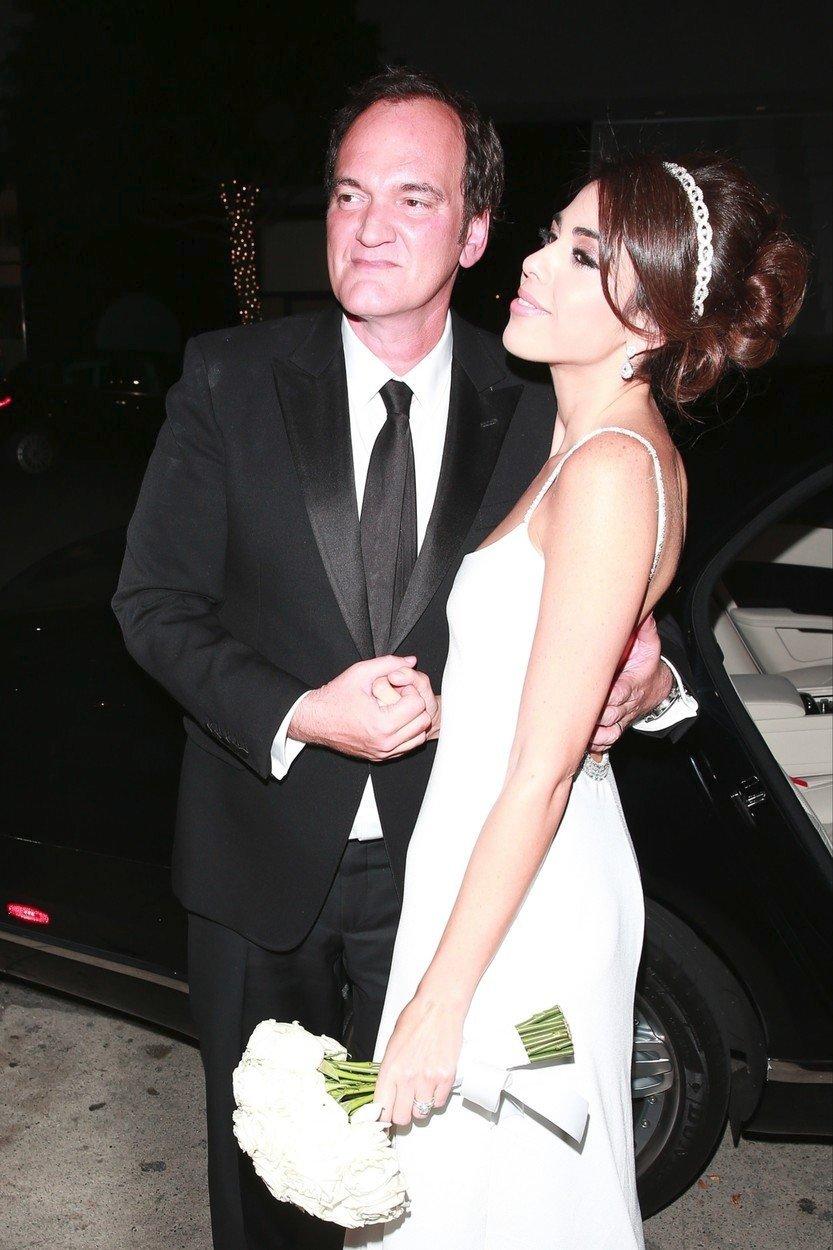 Quentin Tarantino si vzal za ženu o 20 let mladší zpěvačku Daniellu Pick