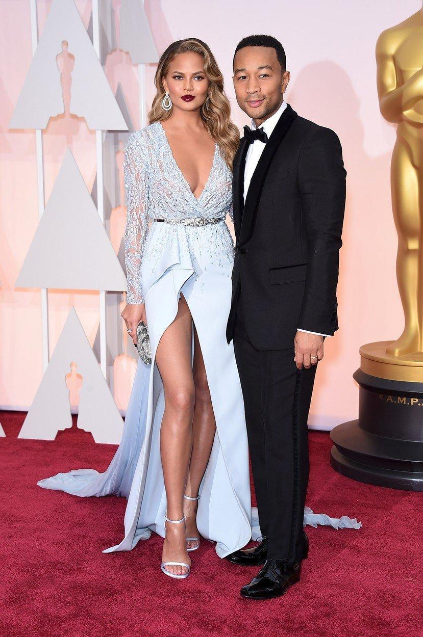 Chrissy Teigen a její manžel John Legend