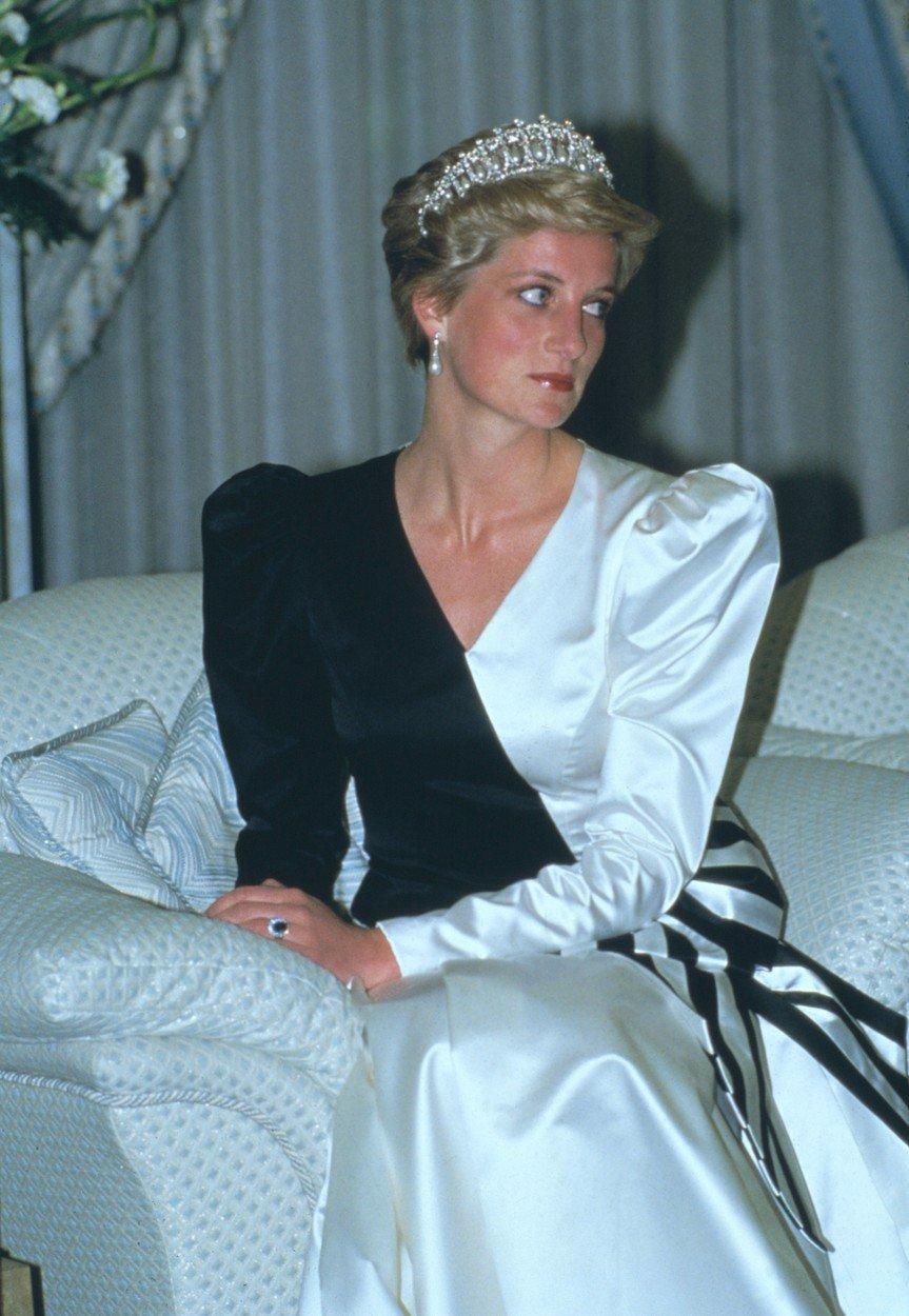 Šaty princezny Diany