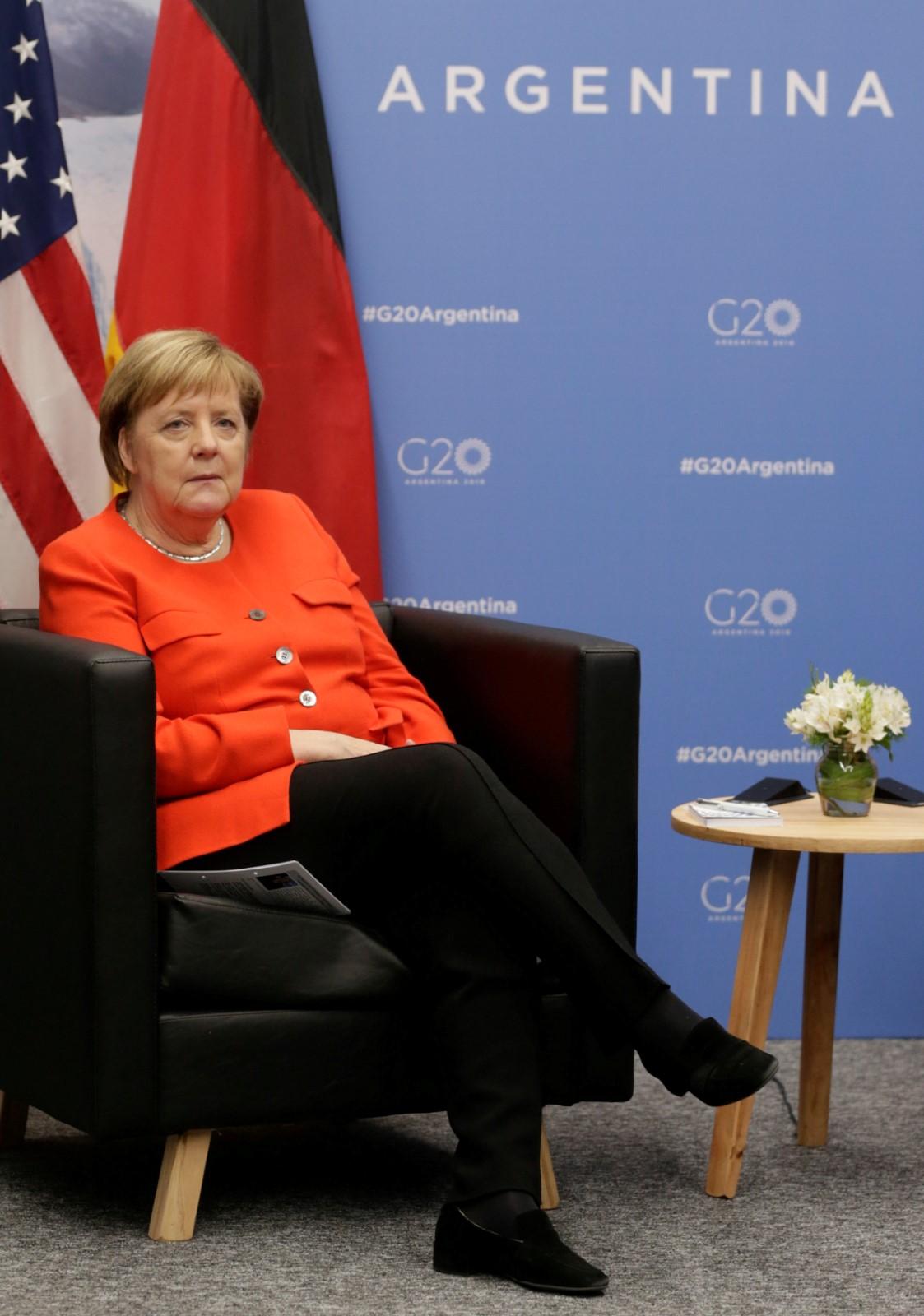 Německá kancléřka Angela Merkelová na summitu G20