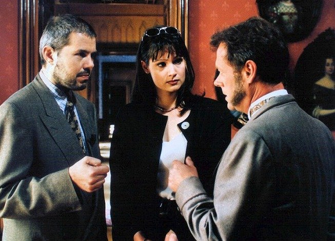 1995 - Marek Eben a Klára Doležalová v pořadu O poklad Anežky České