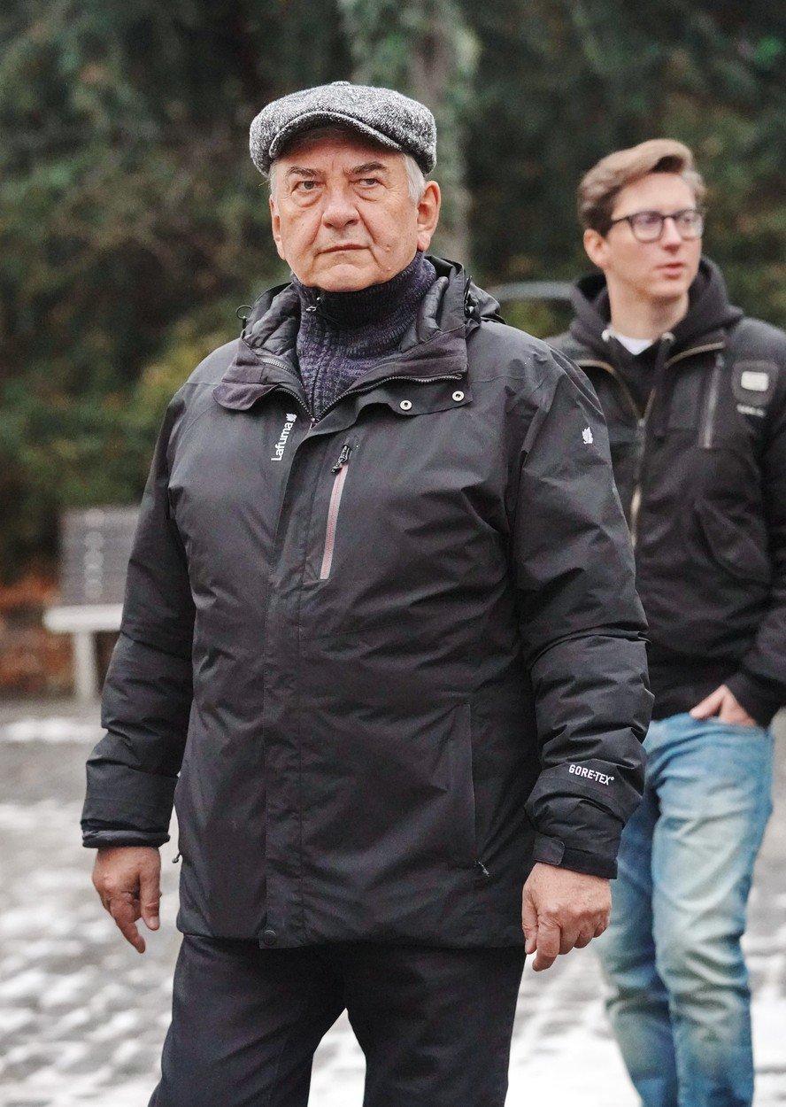 Miroslav Donutil v pražské ZOO