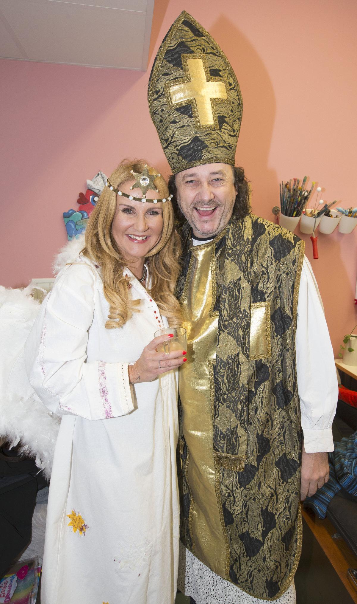 Anděl Vendula Pizingerová s Mikulášem Marianem Vojtkem