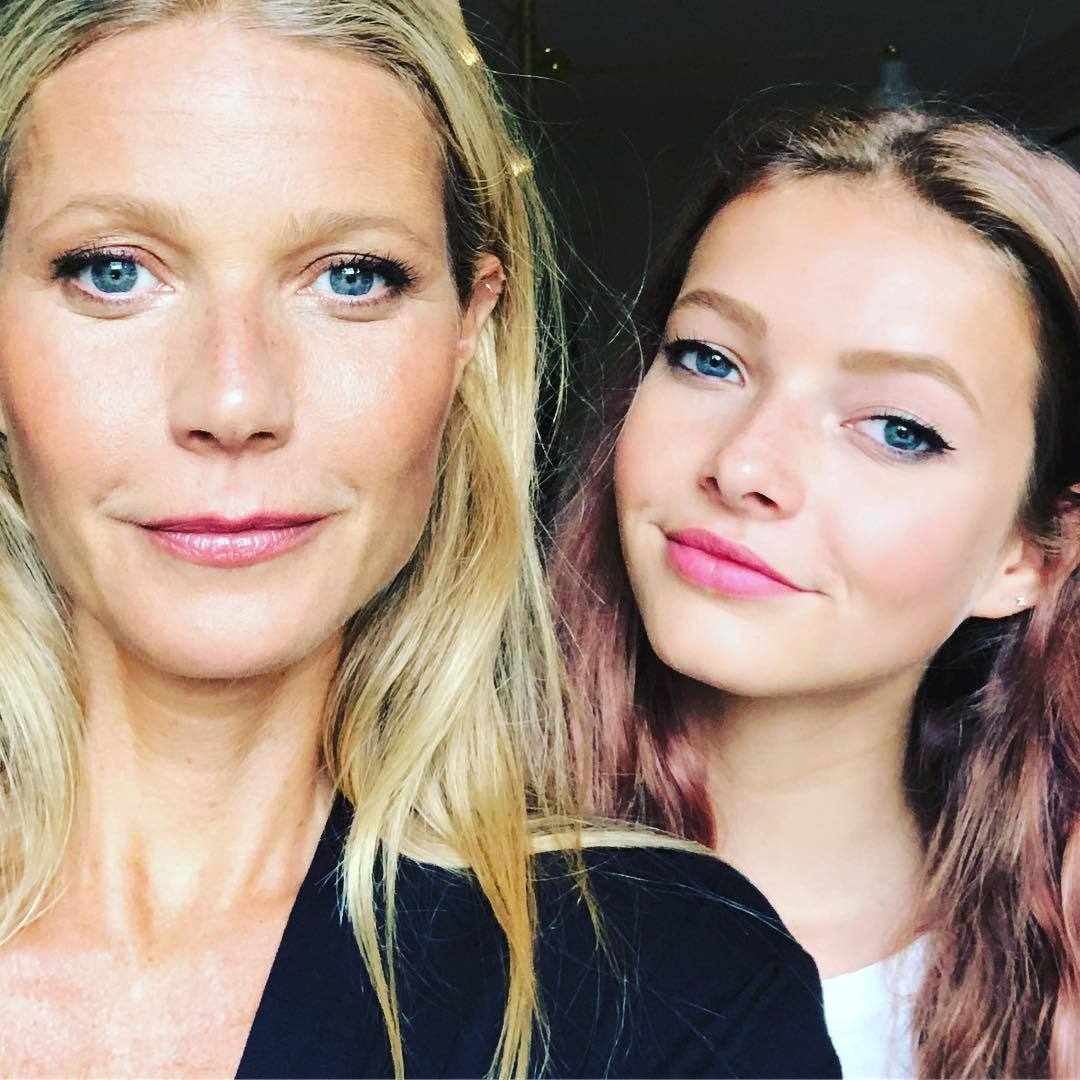 Gwyneth Paltrow a její dcera Apple