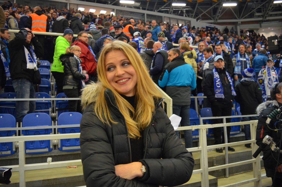 Na čtvrtečním zápase Komety se Spartou se přišla podívat i tenistka Lucie Šafářová