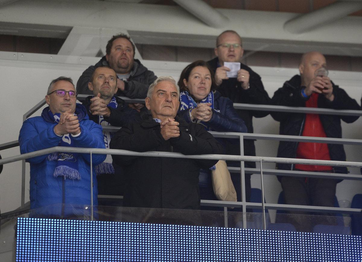 Na zápas Komety se Spartou se dorazil podívat i herec Miroslav Donuti