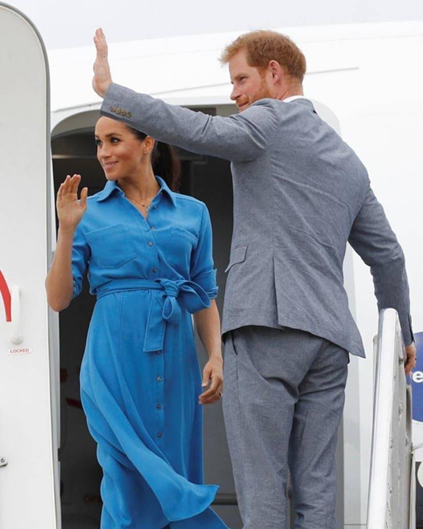 Vévodkyně Meghan a princ Harry.