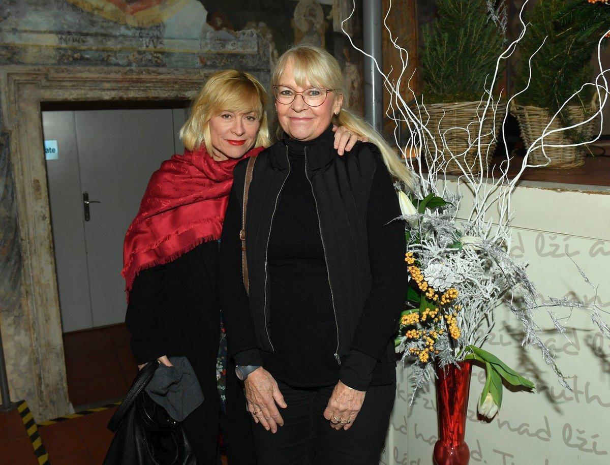 Dana Batulková zapózovala s Kateřinou Macháčkovou