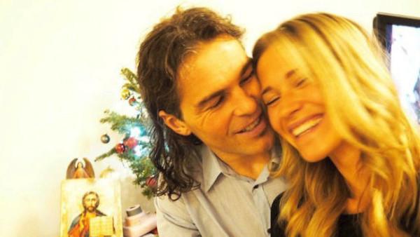 Loni na Vánoce byli Jágr s Kopřivovou samý úsměv...