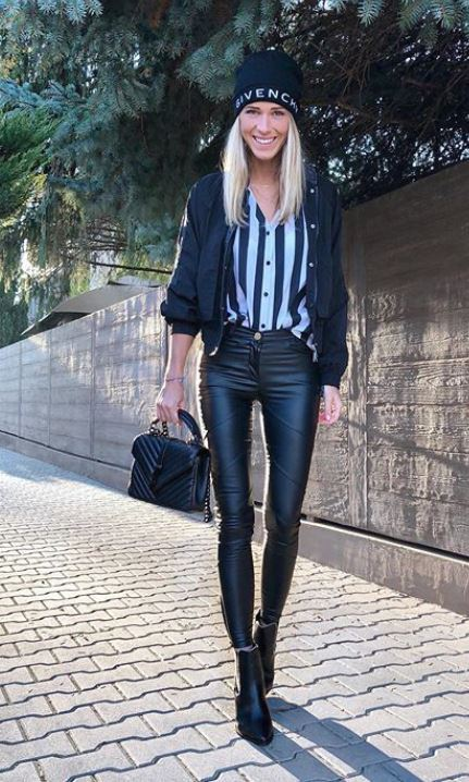 Veronika Kopřivová ukázala jeden ze svých podzimních outfitů.