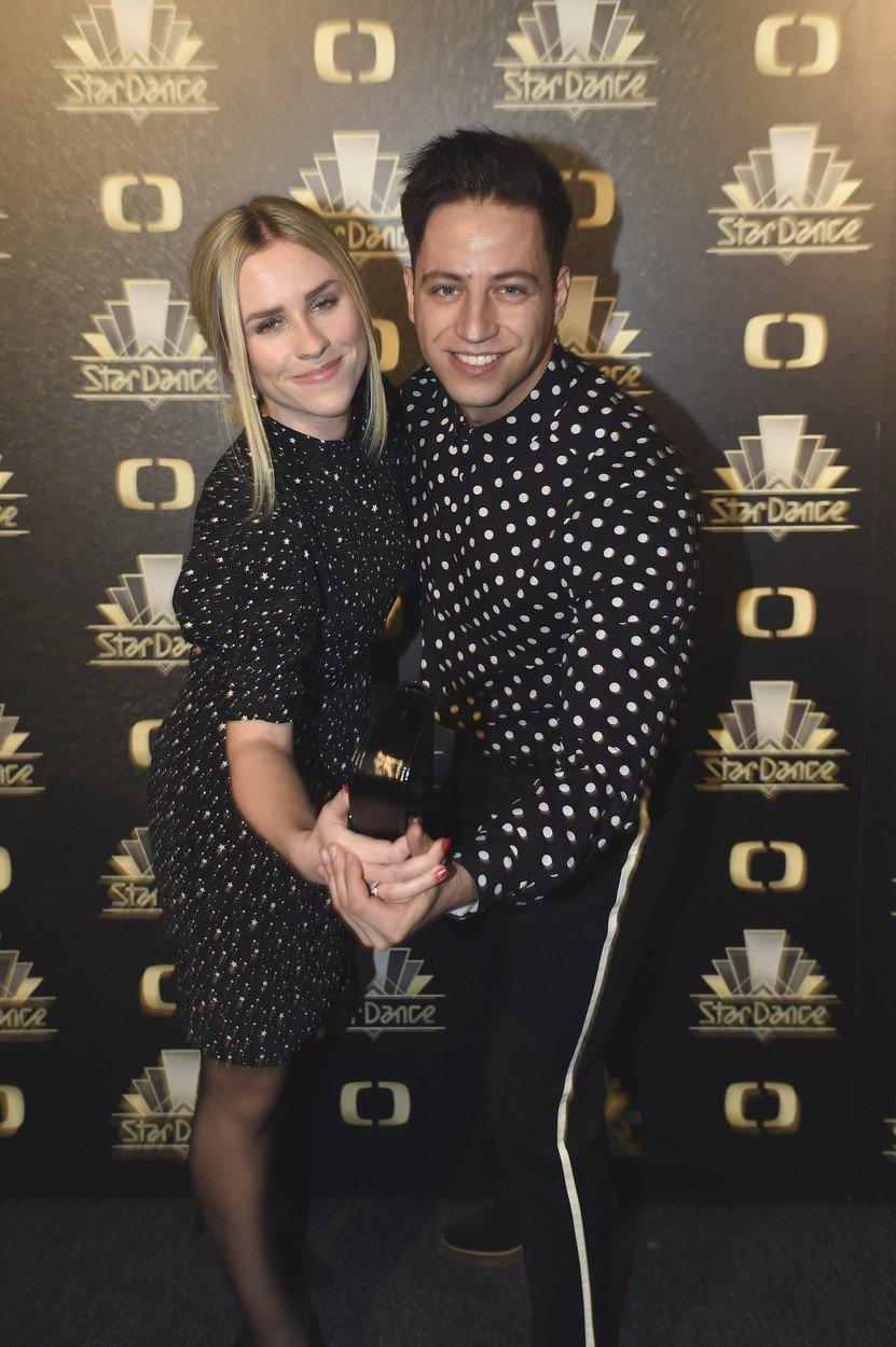 Milan Peroutka a Mariana Prachařová před finálovým večerem StarDance