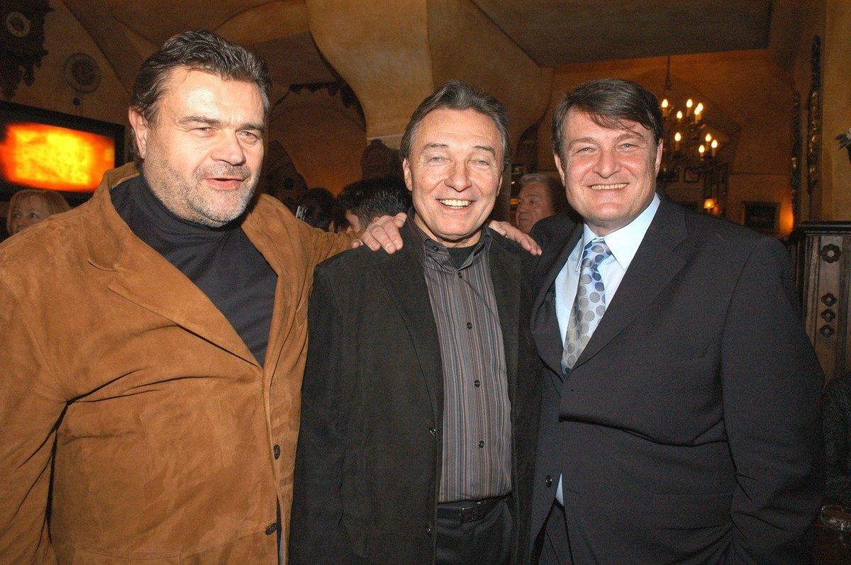 Karel Svoboda, Karel Gott a Ladislav Štaidl.