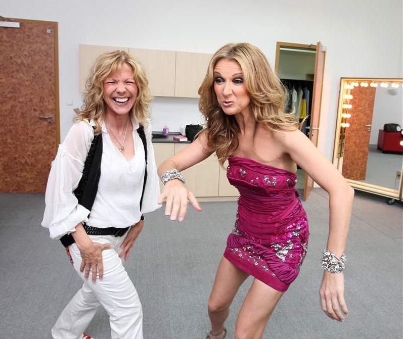 Lenka Filipová a Celine Dion si padly do noty.