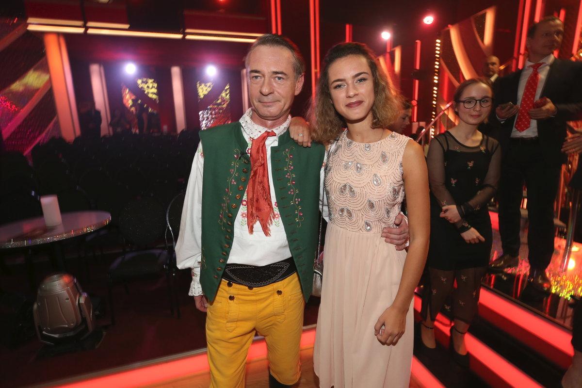 Jiří Dvořák s dcerou Aničkou.