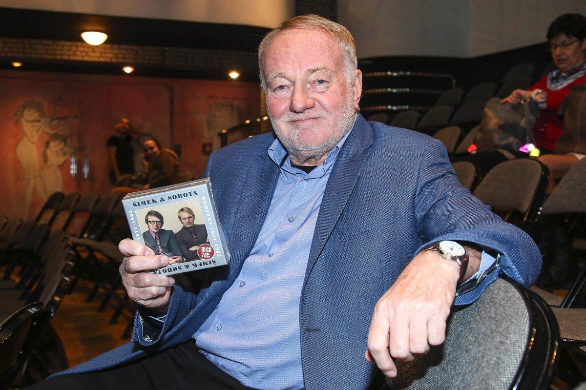 Luděk Sobota křtil CD v Semaforu